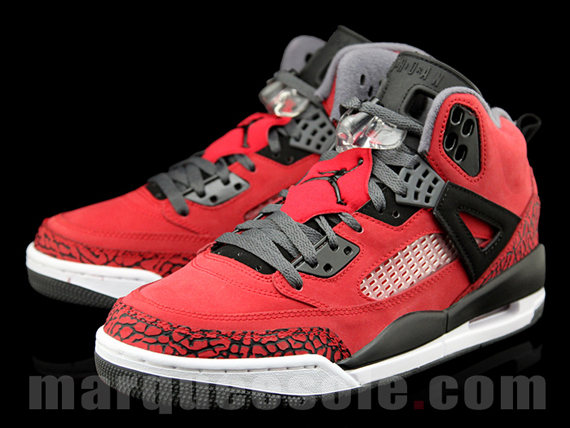 Jordan Spizike: Red   Black