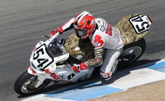 Ben Bostrom Clenches 5th Place Finish @ AMA Pro National Guard SuperBike Race