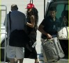 Rihanna makes her arrival in Sardinia [USA ONLY]
