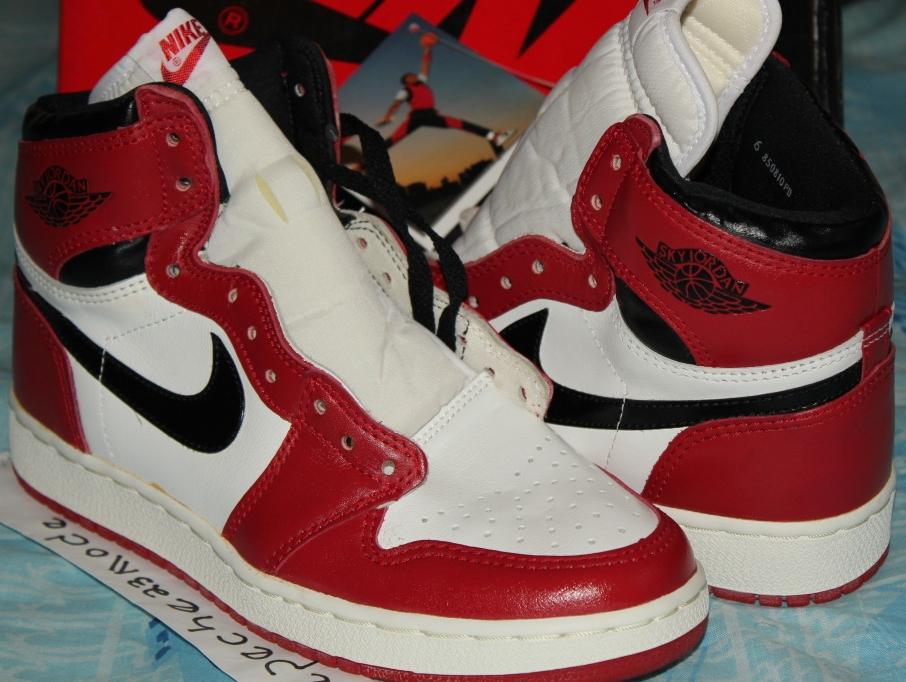 Sky Jordan 1: 1985 OG - Air Jordans