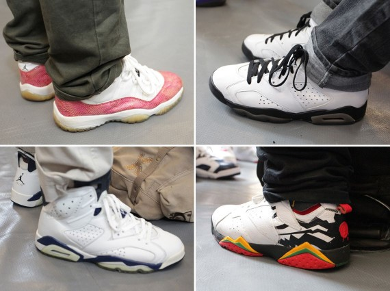 Sneaker Con DC: July 2012 Feet Recap
