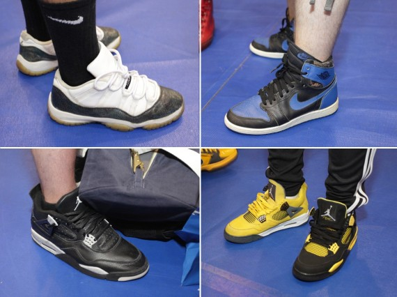 sneaker con nyc june 2012 on feet recap air jordans release