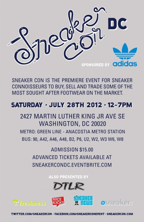 Sneaker Con Washington DC: July 2012