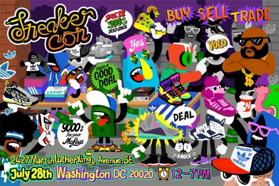 Sneaker Con DC: July 28, 2012 | Event Reminder