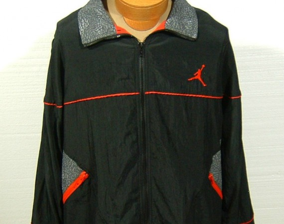 Vintage Gear: Air Jordan III Elephant Windbreaker