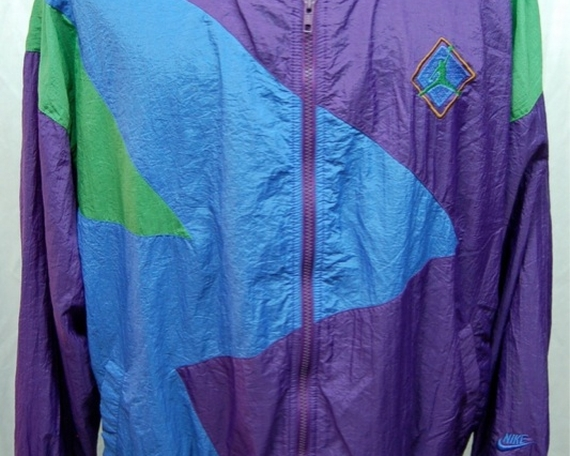 Vintage Gear: Air Jordan VII Nylon Jacket