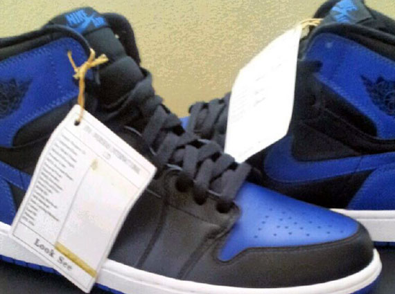 Air Jordan 1: Black – Royal Blue