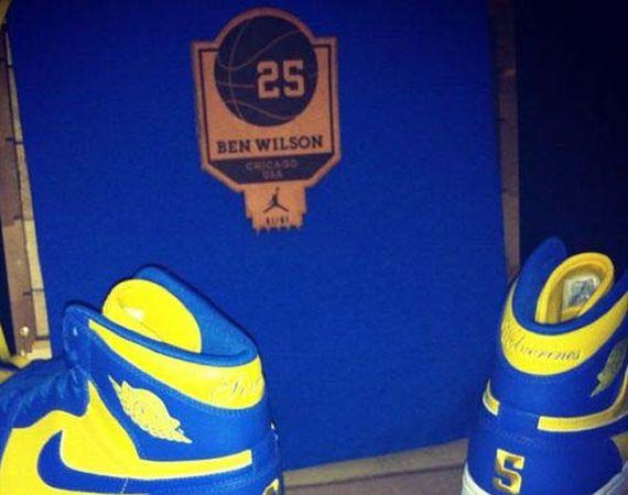 Air Jordan 1: Ben Benji Wilson