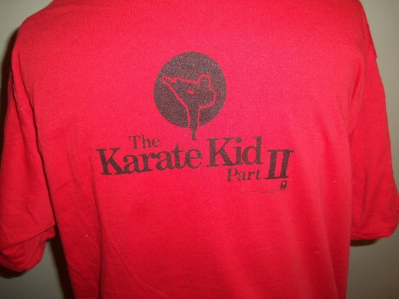 Vintage Gear: Air Jordan 1 Karate Kid T Shirt