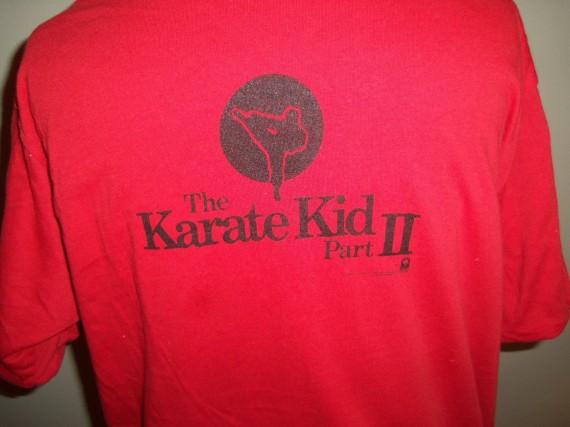 Vintage Gear: Air Jordan 1 Karate Kid T Shirt