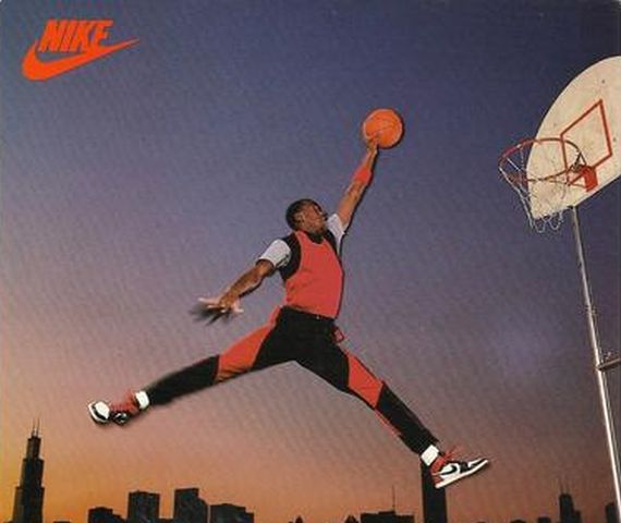 Vintage Gear: Air Jordan 1 Promo Card