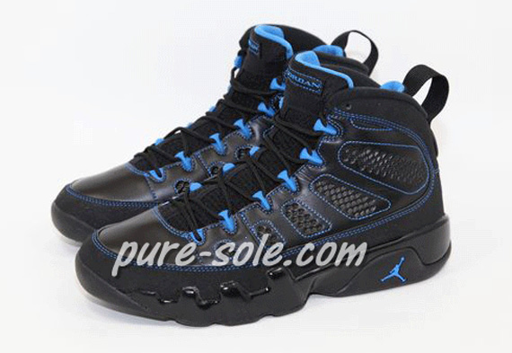 Photo Blue Air Jordan IX