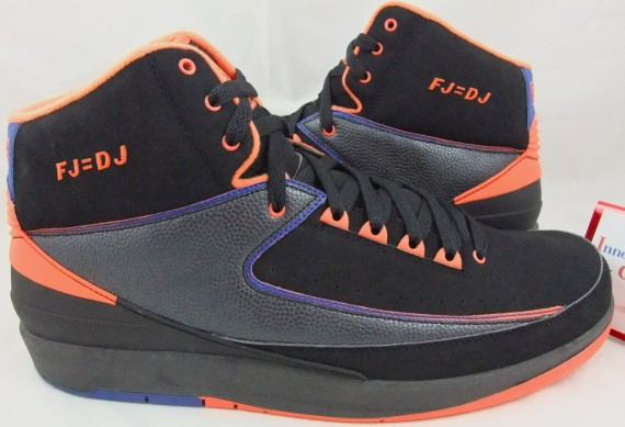 Air Jordan II: Fred Jones Knicks Away PE