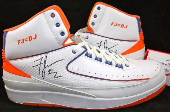 Air Jordan II: Game Worn Fred Jones Knicks Home PE