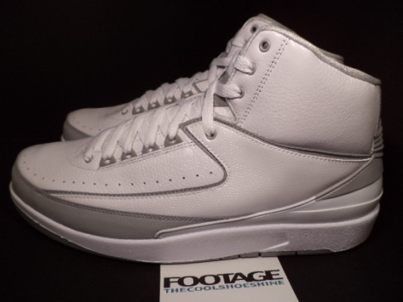 The Daily Jordan: Air Jordan II Silver Anniversary   2010