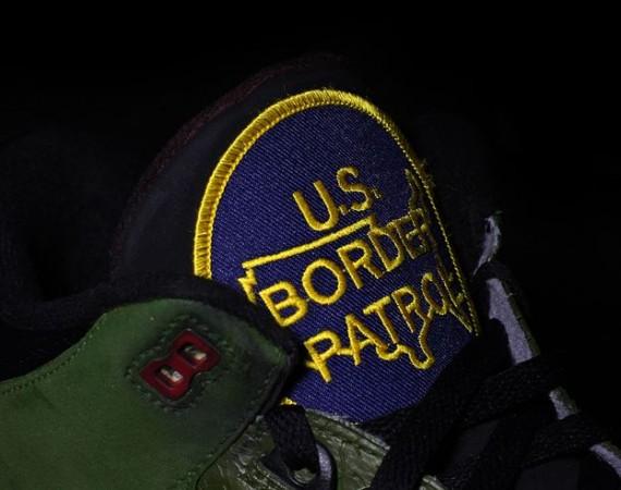 Air Jordan III: Border Patrol Customs by Jwdanklefs