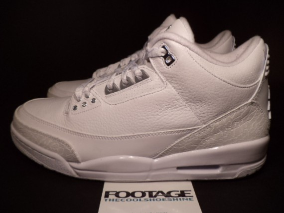 The Daily Jordan: Air Jordan III Silver Anniversary   2010