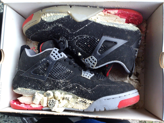 Air Jordan IV: Bred 1999 Retro   Dissolved