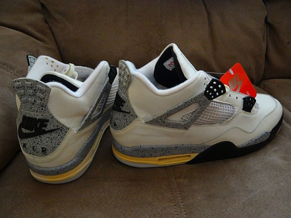The Daily Jordan: Air Jordan IV White/Cement OG   1989