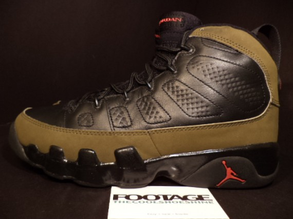 The Daily Jordan: Air Jordan IX Olive   2002