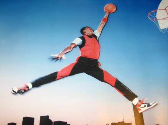 Vintage Gear: Air Jordan Jumpman Original Poster