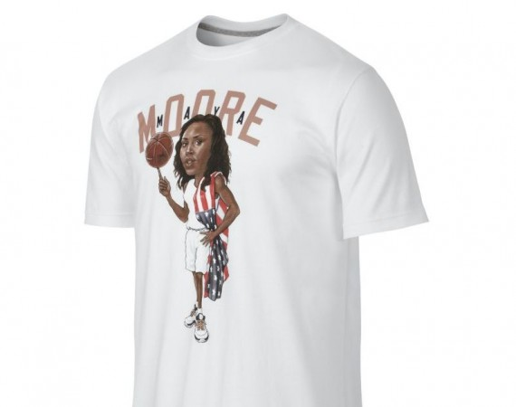 Air Jordan Maya Moore Olympic Shirt