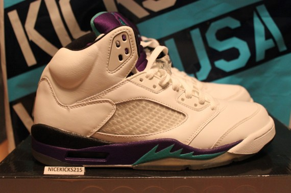 The Daily Jordan: Air Jordan V Grape   2006
