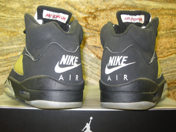 Air Jordan V: Metallic   Nike Air Sample