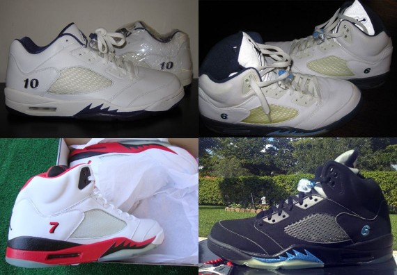 Air Jordan V: Player Exclusive Gallery