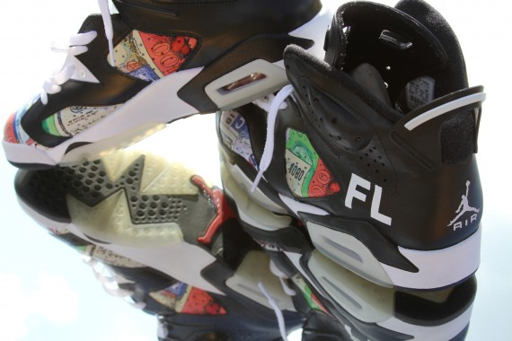 Air Jordan VI: FLOM Customs by El Cappy