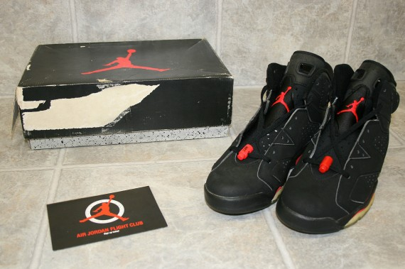 Air Jordan VI: Infrared OG 3M Pair