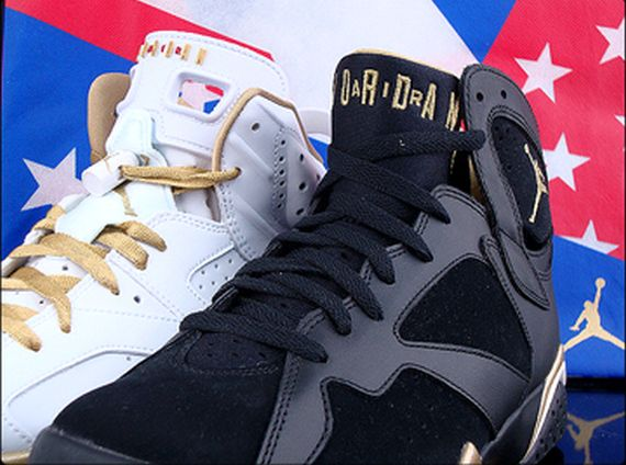 Air Jordan Golden Moments Pack   Available on eBay