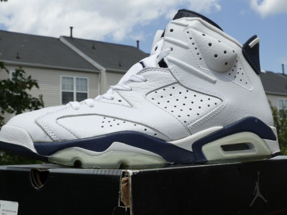 The Daily Jordan: Air Jordan VI   White   Midnight Navy   2000