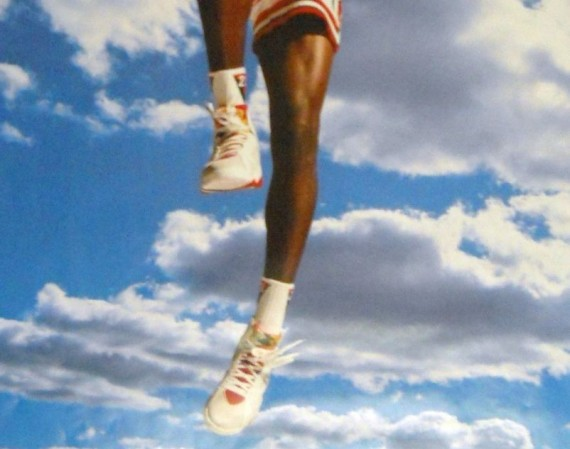 Vintage Gear: Michael Jordan Air Jordan VII Poster