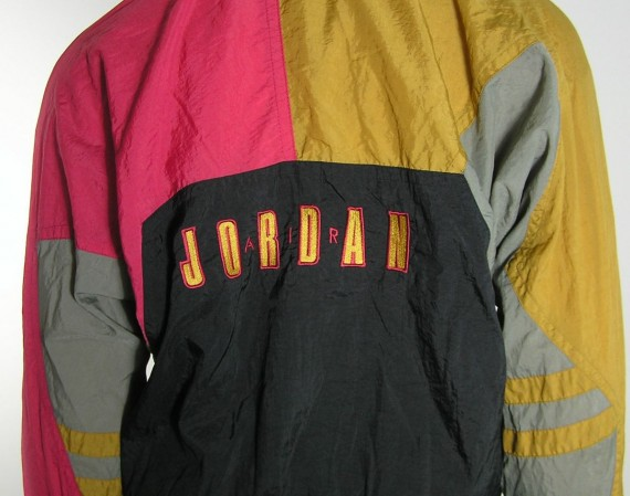 Vintage Gear: Air Jordan VII Windbreaker Jacket