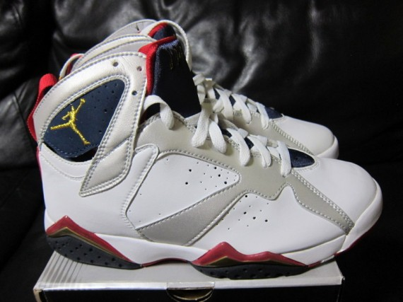 5d842a36605e5e For the past couple of Summer Olympic Games the Air Jordan VII  Olympic   has popped in and out of the retro release schedule