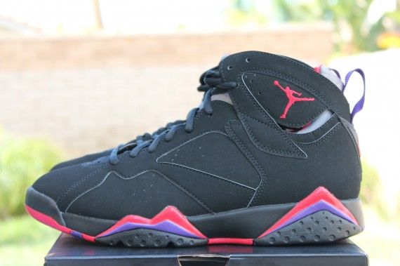 Air Jordan VII: Raptors   Release Reminder
