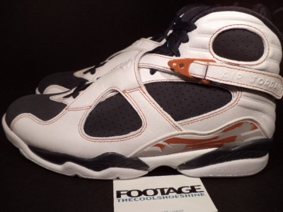 The Daily Jordan: Air Jordan VIII   White   Anthracite   2007