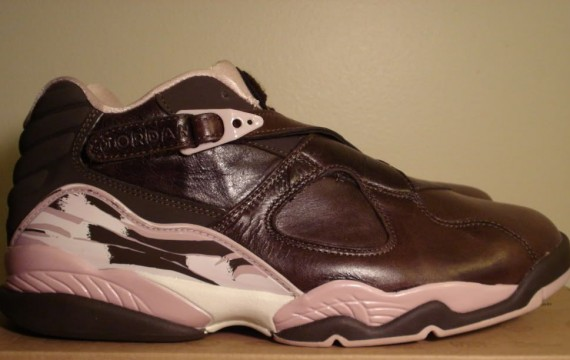 The Daily Jordan: Air Jordan VIII WMNS Low   Dark Cinder   Champagne   2007