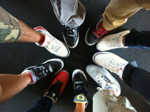 Jordan Brand Employees in Retros