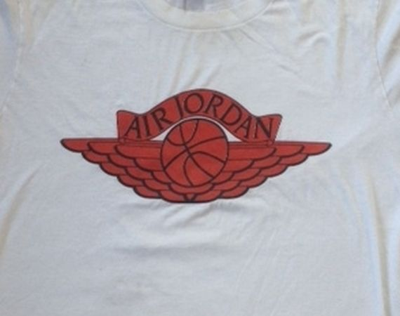 Vintage Gear: Air Jordan Wings Blue Tag T Shirt