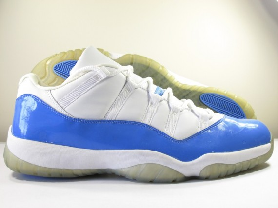 The Daily Jordan: Air Jordan XI Low   White   Columbia Blue   2001
