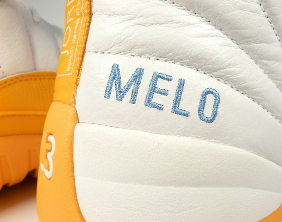 Air Jordan XII: Carmelo Anthony Nuggets PE