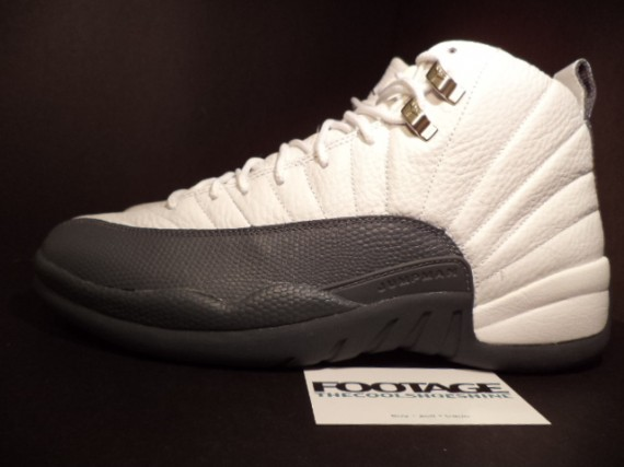 The Daily Jordan: Air Jordan XII   White   Flint Grey   2003