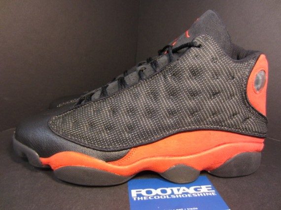 The Daily Jordan: Air Jordan XIII   Black   True Red   2004