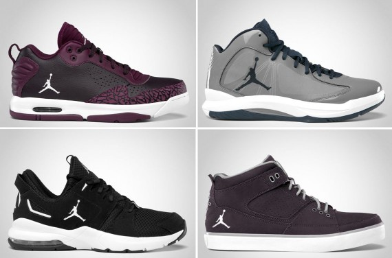 Jordan Brand September 2012 Footwear