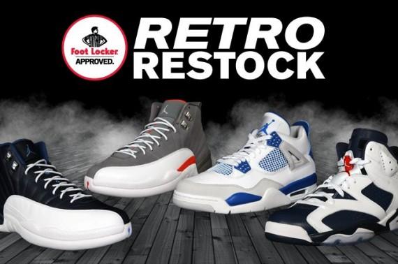 Foot Locker Plans Air Jordan Retro Restocks