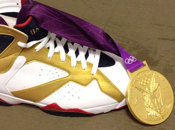 Air Jordan VII Olympic Gold Medal