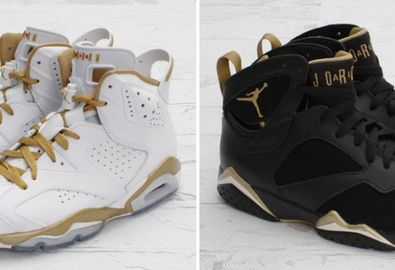 Air Jordan Golden Moments Pack   Arriving in Stores