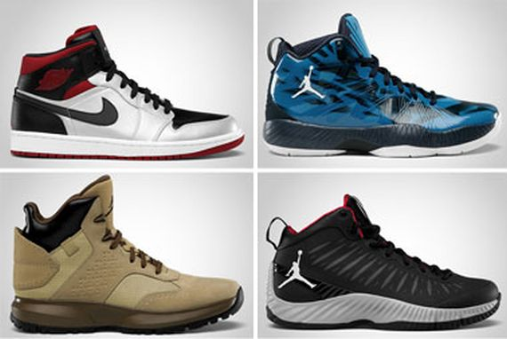 Jordan Brand October 2012 Footwear